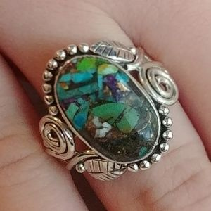 Jewelry - Autumn Multi-Colored Turquoise Ring